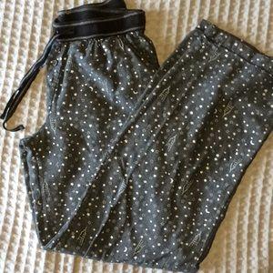 DKNY drawstring pajama pants